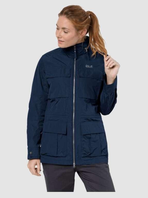"""Jack Wolfskin """"Palmdale"""" winddichte Frauen Jacke in blau oder grau für 90,63€inkl. Versand (statt 180€)"""