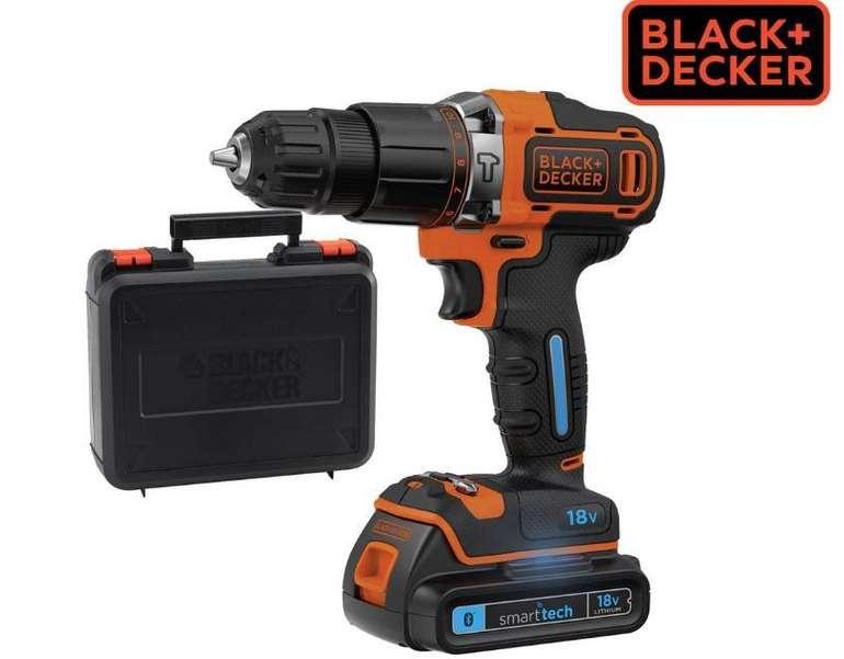 Black & Decker (BDCHD18KST-GB) Schlagbohrschrauber mit Koffer für 65,90€