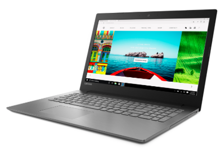 Lenovo IdeaPad 320-15AST Notebook (8GB, 128GB SSD + 1TB HDD, Win 10) für 359€