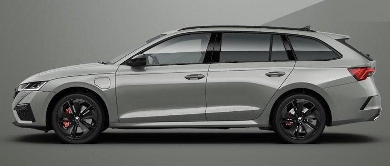 Skoda Octavia Combi RS iV Hybrid Leasing 2