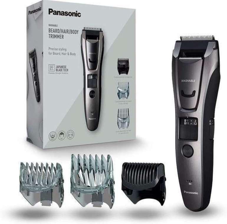 Panasonic ER-GB80 Bart-/ Haarschneider (Akku- & Netzbetrieb, 39 Schnittstufen, Inkl. Präzisions-Trimmer) für 34,90€