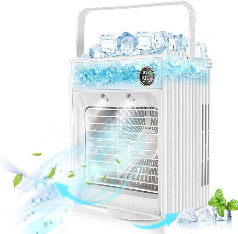 Jeteven Luftkühler mit 4000 mAh Akku für 26,39€ inkl. Versand (statt 39€)