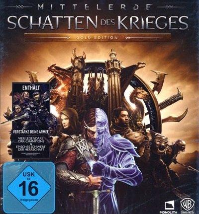 Mittelerde: Schatten des Krieges - Gold Edition (Steam, Download) für 8,24€