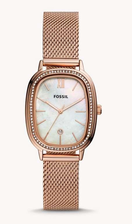 "Fossil Armbanduhr ""Lyla"" in Roségold für 90€inkl. Versand (statt 129€)"