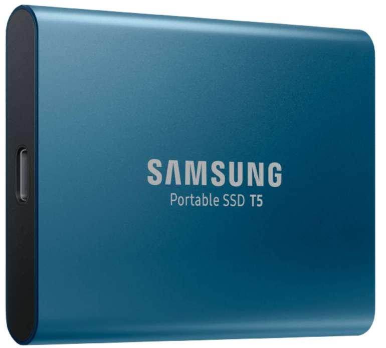 Samsung Portable SSD T5 externe 250GB USB-C für 55,80€ inkl. VSK
