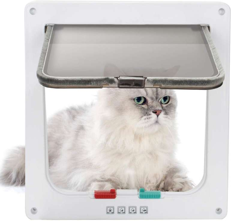 Hengda 4-Wege Katzenklappe für 11,89€ inkl. Versand (statt 17€)
