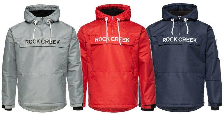 Rock Creek H-167 Herren Windbreaker Übergangsjacke 2