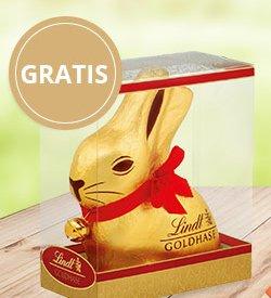Lindt Chocoladen Club: Gratis 2x 500g Goldhase oder 1kg Goldhase für Neukunden