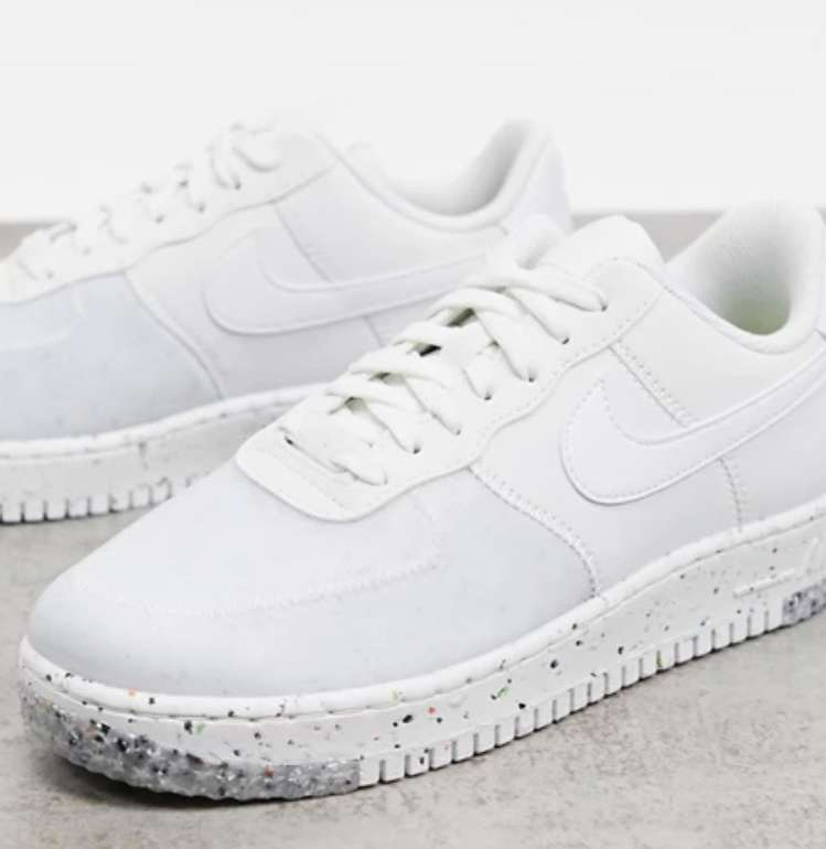 "Nike Air Force 1 Crater Sneaker im ""Summit White""-Colourway für 80,35€ inkl. Versand (statt 110€)"