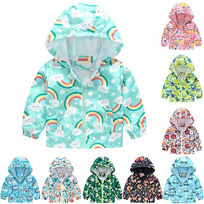 Sonojie Kinder Jacke mit Print (verschiedene Motive) für je 7,98€ inkl. Versand (statt 11€)