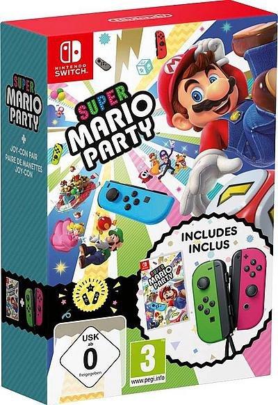 Super Mario Party Nintendo Switch + Joy-Con Set ab 84€ - Paydirekt!
