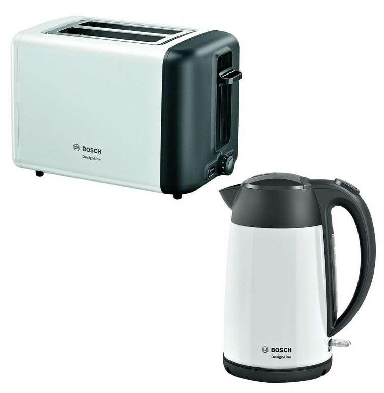 "Bosch ""TAT3P421DE"" Toaster + ""TWK3P421"" Wasserkocher 1,7 L für 62,91€ (statt 81€)"