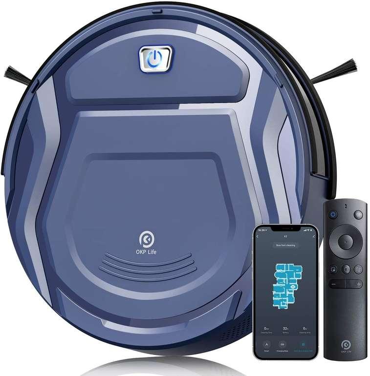 Okp K2 Saugroboter (WiFi, App, Alexa, 2100Pa) für 91,49€ inkl. Versand (statt 170€)