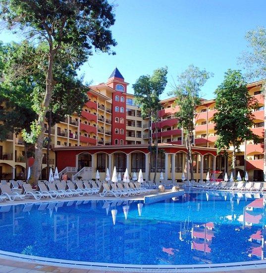 7 Tage Bulgarien im top 4,5* Hotel mit All inclusive Verpflegung inkl. Transfer, Zug und Flügen ab 441€