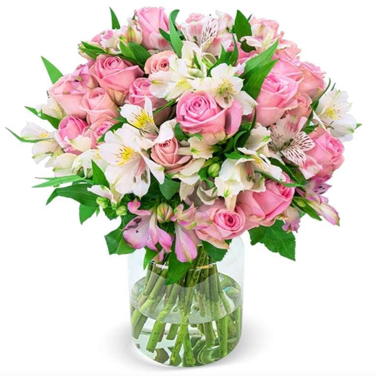 """Blumenstrauß """"Sweet Surprise"""" mit 33 Rosen und 120 Blüten für 27,98€ inkl. Versand"""