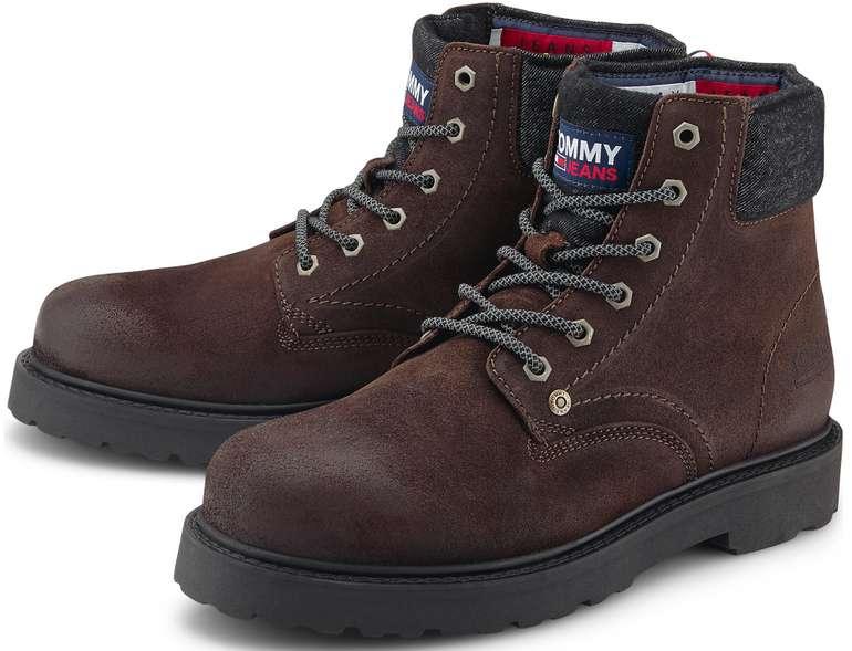 Tommy Jeans Herren Schnür-Boots in mittelbraun für 63,71€inkl. Versand (statt 75€)