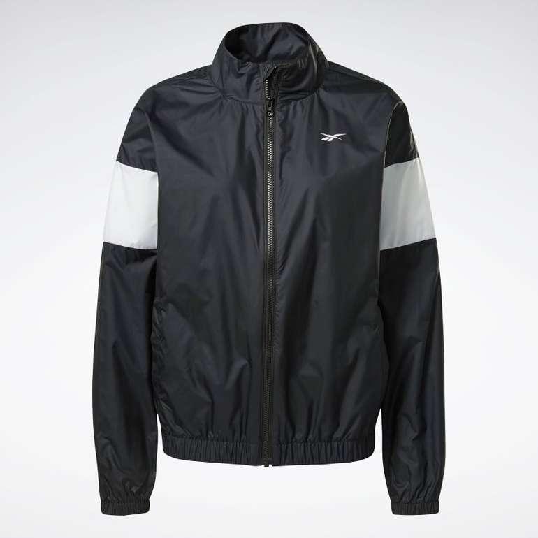 Reebok Linear Logo Damen Jacke für 26,95€ inkl. Versand (statt 36€) - Restgrößen