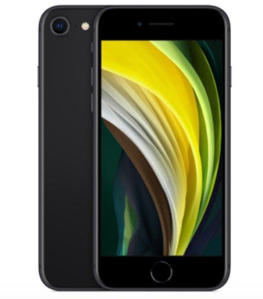 Apple iPhone SE (2020) mit 64GB Speicher (17,86€) + Blau Allnet Flat XL mit 7GB LTE für 23,99€ mtl.
