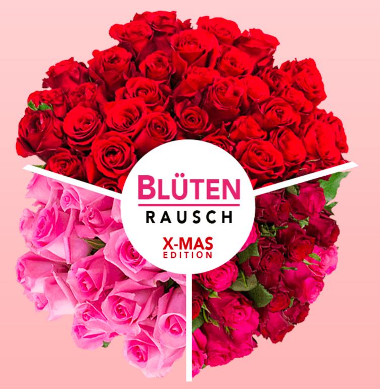 40 Rosen (Farbe nach Zufall) für 23,98€ inkl. Versand (statt 40€)