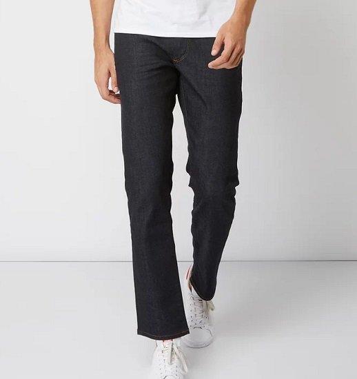 Top Jeans Marken im Sale + 20% Extra (49€ MBW) – z.B. Tommy Jeans Rinsed Washed Straight Fit 5-Pocket-Jeans für 63,99€