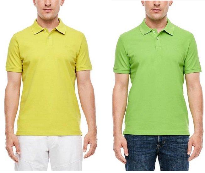 s.Oliver Herren Polo-Shirt in 3 Farben für je nur 12,40€ inkl. Versand (statt 20€)