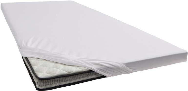 Schlafgut Topper-Spannbetttuch aus Jersey-Elasthan in Grau (180cm x 200cm) für 36,37€ inkl. Versand (statt 40€)