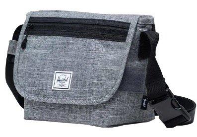 Herschel Tasche 'Grade Mini' in grau für 23,72€ (statt 40€)
