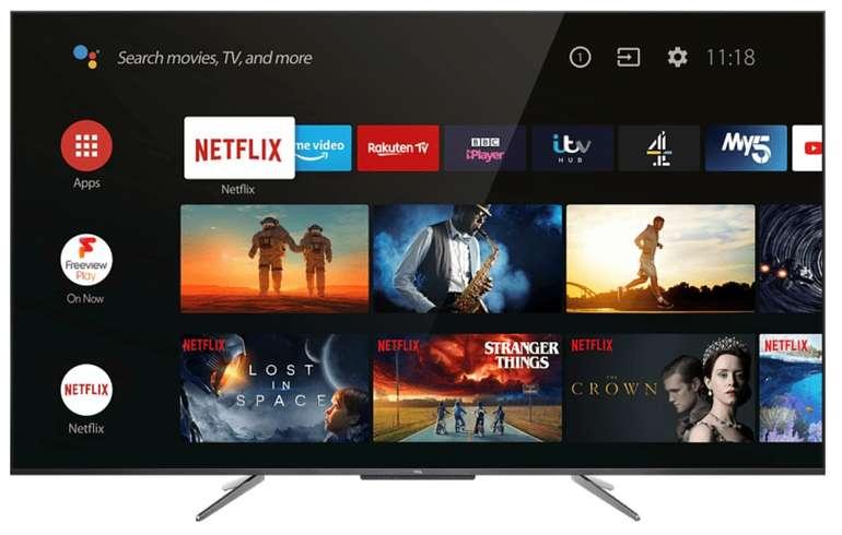 TCL 55 C 715 - 55 Zoll 4K QLED Smart-TV für 486,43€ inkl. Versand (statt 581€)