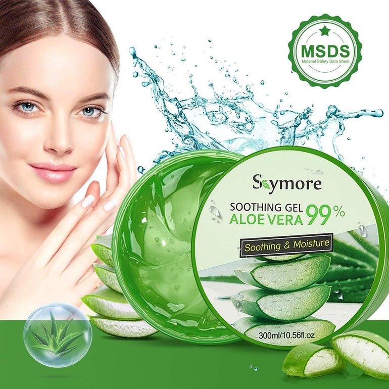 300ml Skymore Aloe Vera Gel für trockene Haut nur 5,94€ (Prime)
