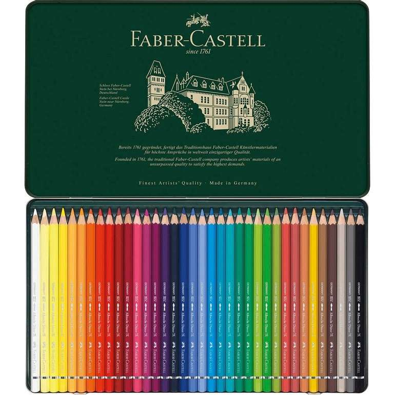 Faber-Castell Albrecht Dürer Aquarellstifte (36 Stk.) für 40,01€ inkl. Versand (statt 44€)