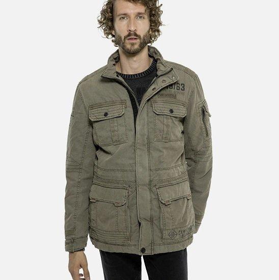 Camp David Fieldjacket in Khaki oder Schwarz je nur 64,58€ inkl. VSK (statt 79€)