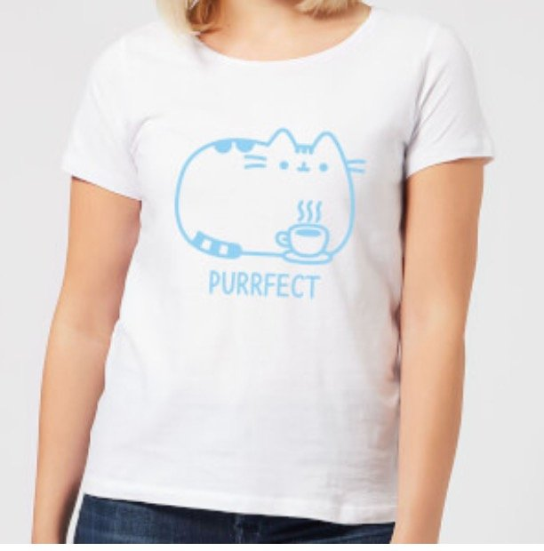 Pusheen Damen T-Shirt + Untersetzer-Set für 9,99€ inkl. Versand (statt 22€)