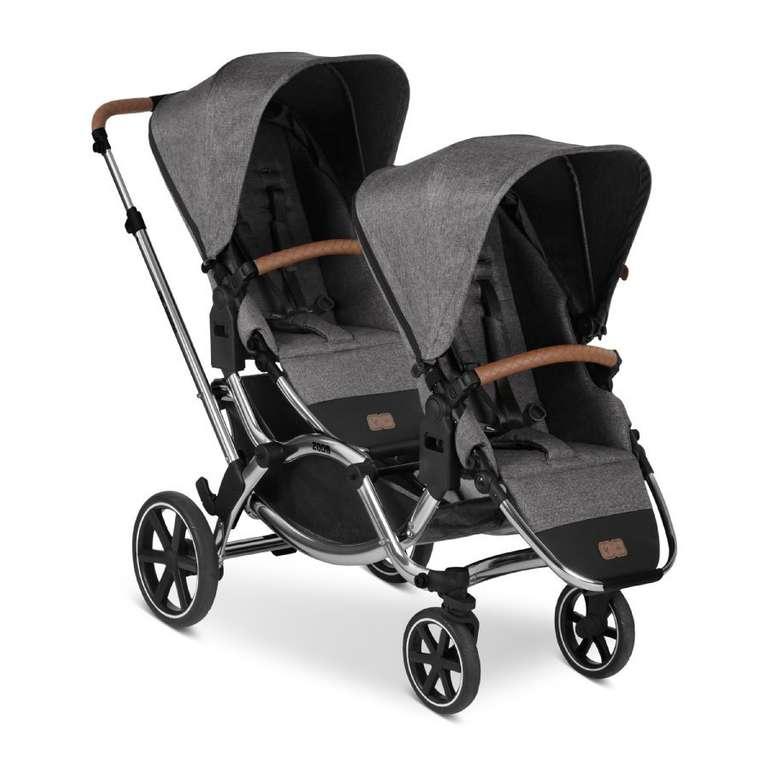 ABC Design Geschwisterwagen Zoom (2020) Diamond Edition Asphalt für 549,99€ inkl. Versand (statt 682€)