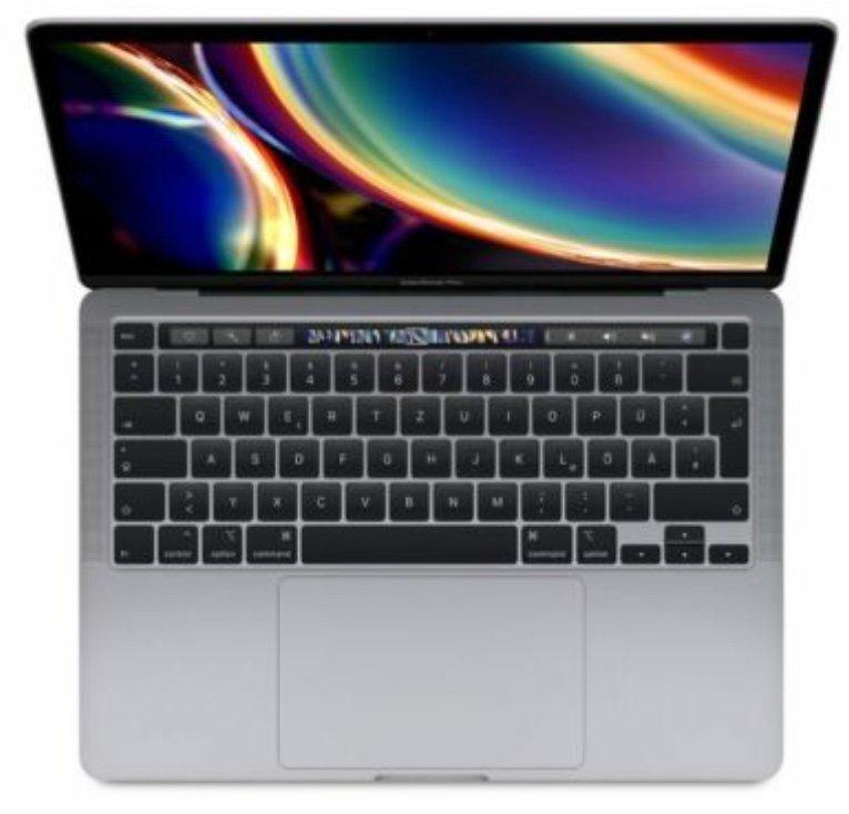 "Apple MacBook Pro 13.3"" (Core i5-1038NG7, 16GB RAM, 512GB SSD [2020 / Z0Y6]) für 1249,90€ (statt 1449€)"