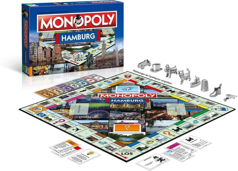 Monopoly - Hamburg Stadt Edition für 31,99€ (statt 36€)