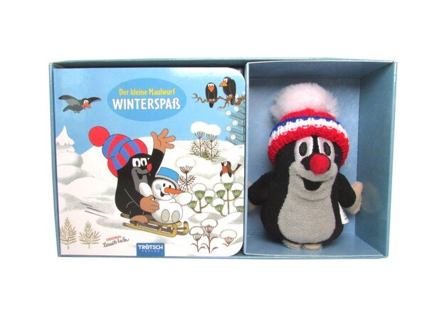 Der Kleine Maulwurf - Winterspaß (Pappbilderbuch & Fingerpuppe) für 6,99€ (statt 9€)