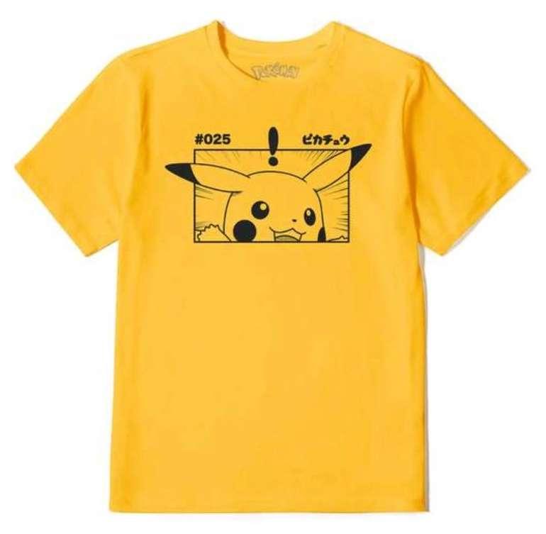 Pokémon T-Shirts für Damen und Herren (versch. Motive) für je 11,99€ inkl. Versand (statt 21€)