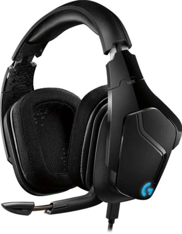 Logitech G635 Lyghtsync RGB-Gaming-Headset (mit 7.1 Surround Sound) für 79€ inkl. Versand (statt 95€)
