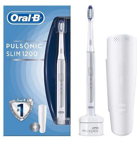 ORAL-B Pulsonic Slim 1200 elektrische Zahnbürste für 49€ inkl. VSK (statt 72€)