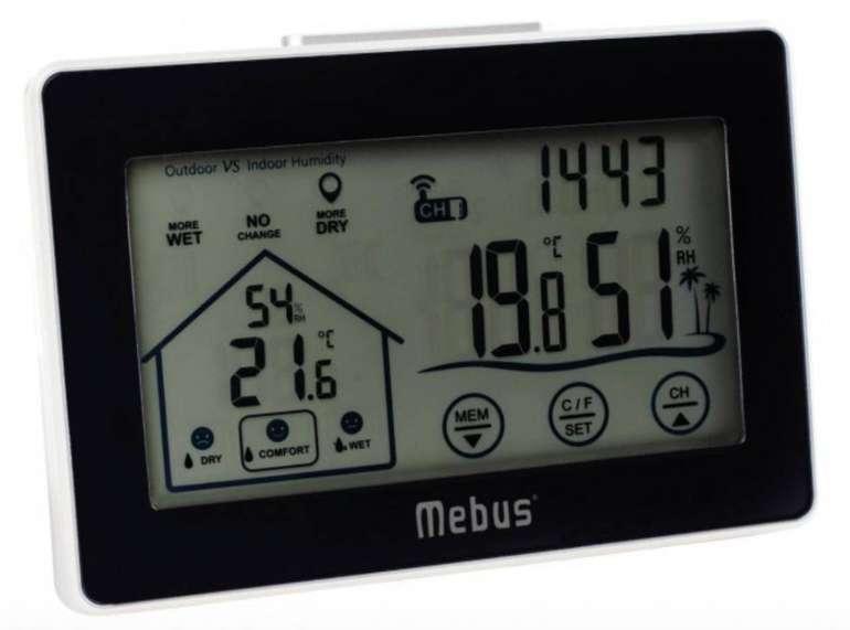 Mebus 40659 Funk-Wetterstation für 21,49€ inkl. Versand (statt 26€)