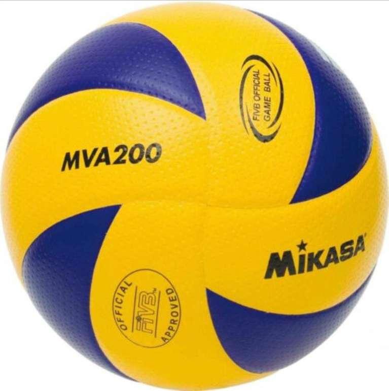Mikasa Volleyball MVA200-SV (offizieller Spielball, mit Schweizer SVV-Logo) für 20,95€ inkl. Versand