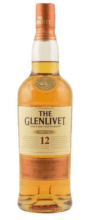 Glenlivet 12 Jahre First Fill Single Malt Scotch Whisky 0.7L für 29,99€ (statt 34€)
