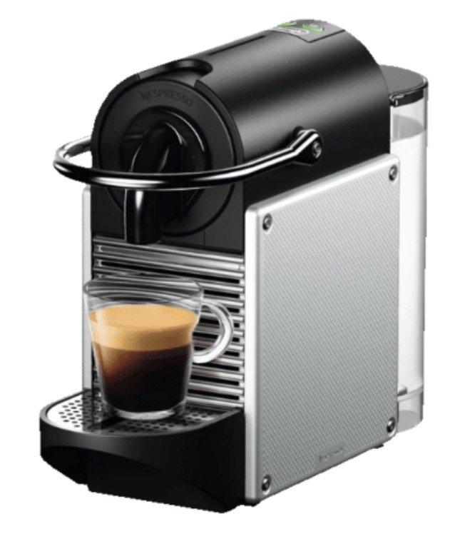 DeLonghi EN124S Nespresso Pixie Kapselmaschine für 55€ inkl. Versand (statt 80€)