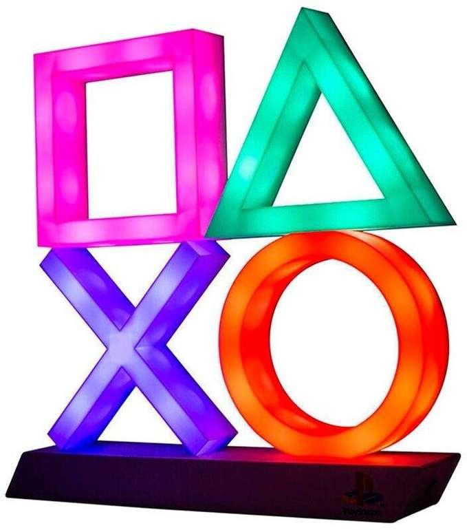 MM & Saturn: Playstation Logo Icons Leuchte für 19,99€ oder XL für 22,99€ bei Abholung (statt 28€)