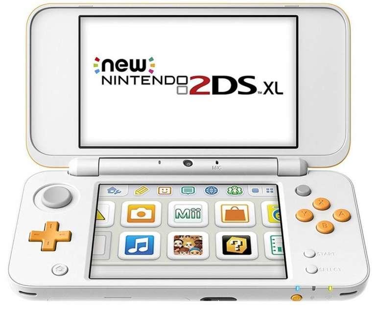 New Nintendo 2DS XL in weiss/orange für 99,99€ inkl. Versand (statt 130€) - Auch in Schwarz!