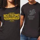 Alien USCSS Nostromo T-Shirt oder Nintendo Super Mario Super T-Shirt ab 10,19€