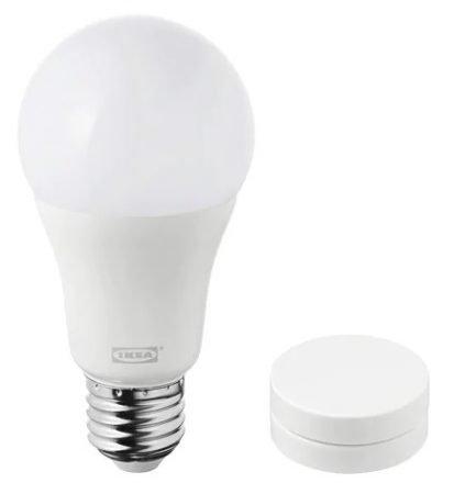 Ikea TRÅDFRI Set (LED Lampe E27 + Dimmer) für 16,89€ inklusive Versand