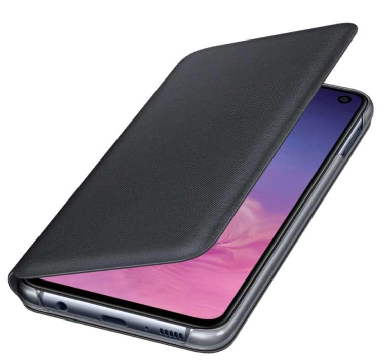 Samsung LED View Cover für Samsung Galaxy S10e in schwarz für 11,99€inkl. Versand (statt 19€)