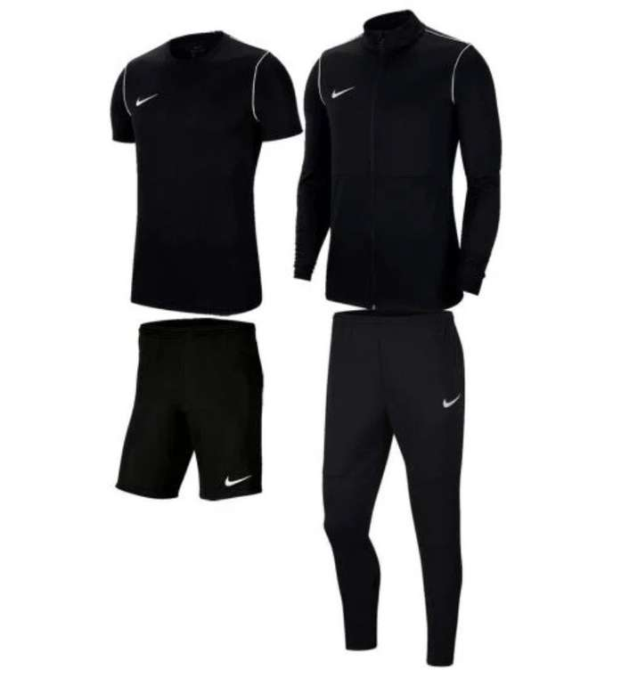 4-tlg. Nike Kinder Trainingsset Park 20 (Jacke, Hose, Shirt, Short) für 40,45€ inkl. Versand (statt 58€)