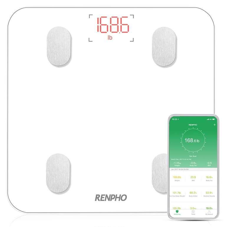 Renpho Bluetooth Körperfettwaage mit App-Steuerung für 23,99€ inkl. VSK